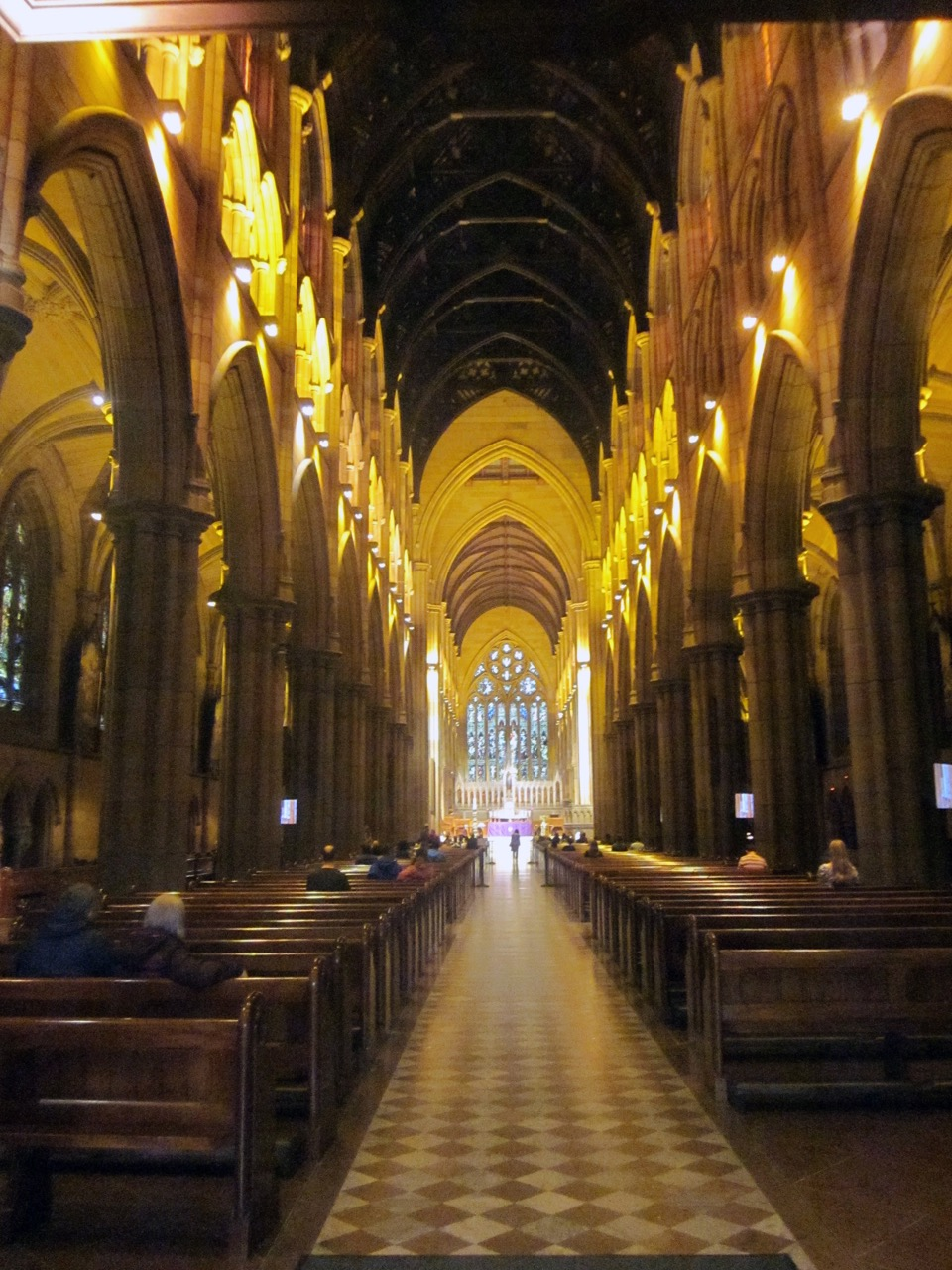 St Mary's Cathedral, interior view