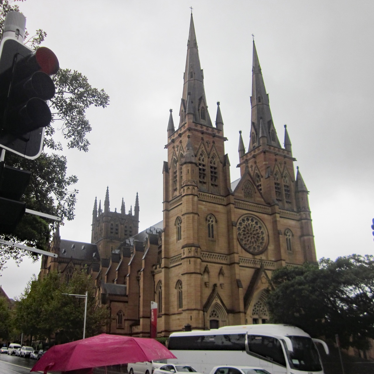 St Mary's Cathedral, exterior view