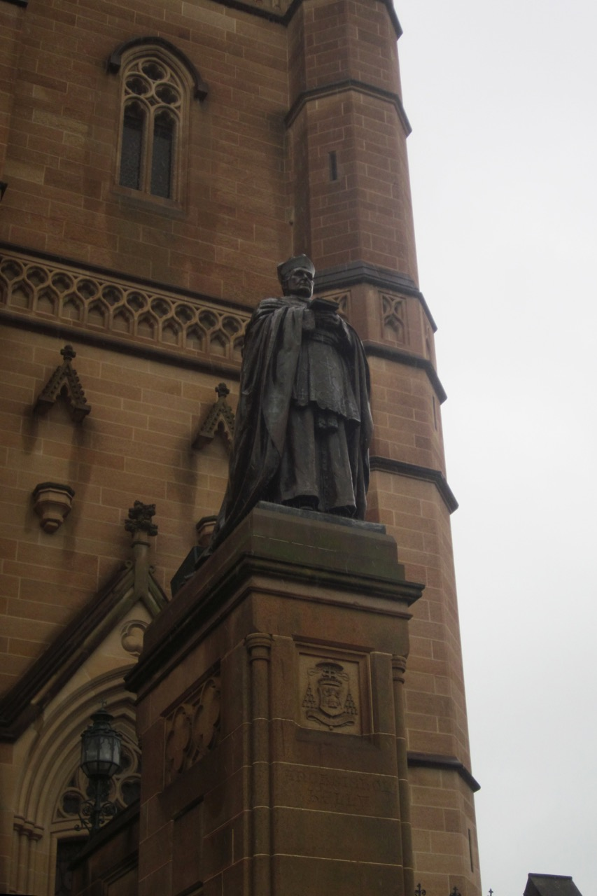 Monument for Archbishop Kelly (1850–1940)