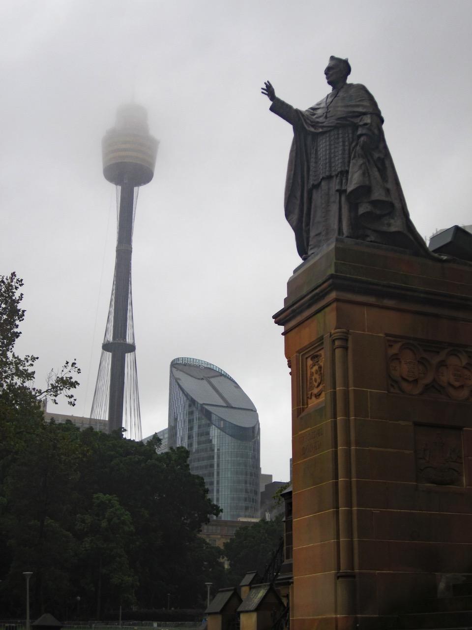 Monument for Cardinal Moran (1830–1911)