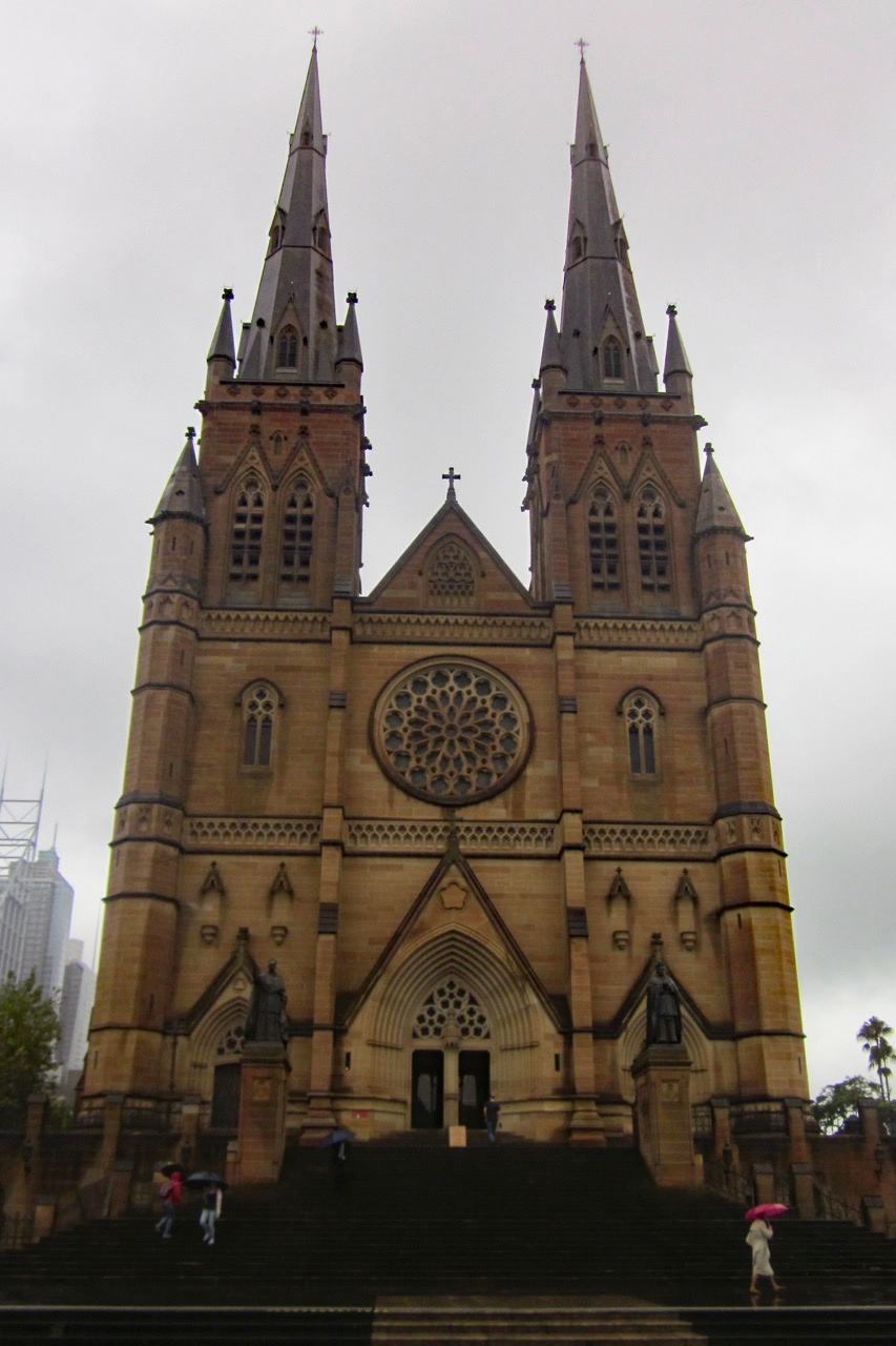 Exterior view from the south