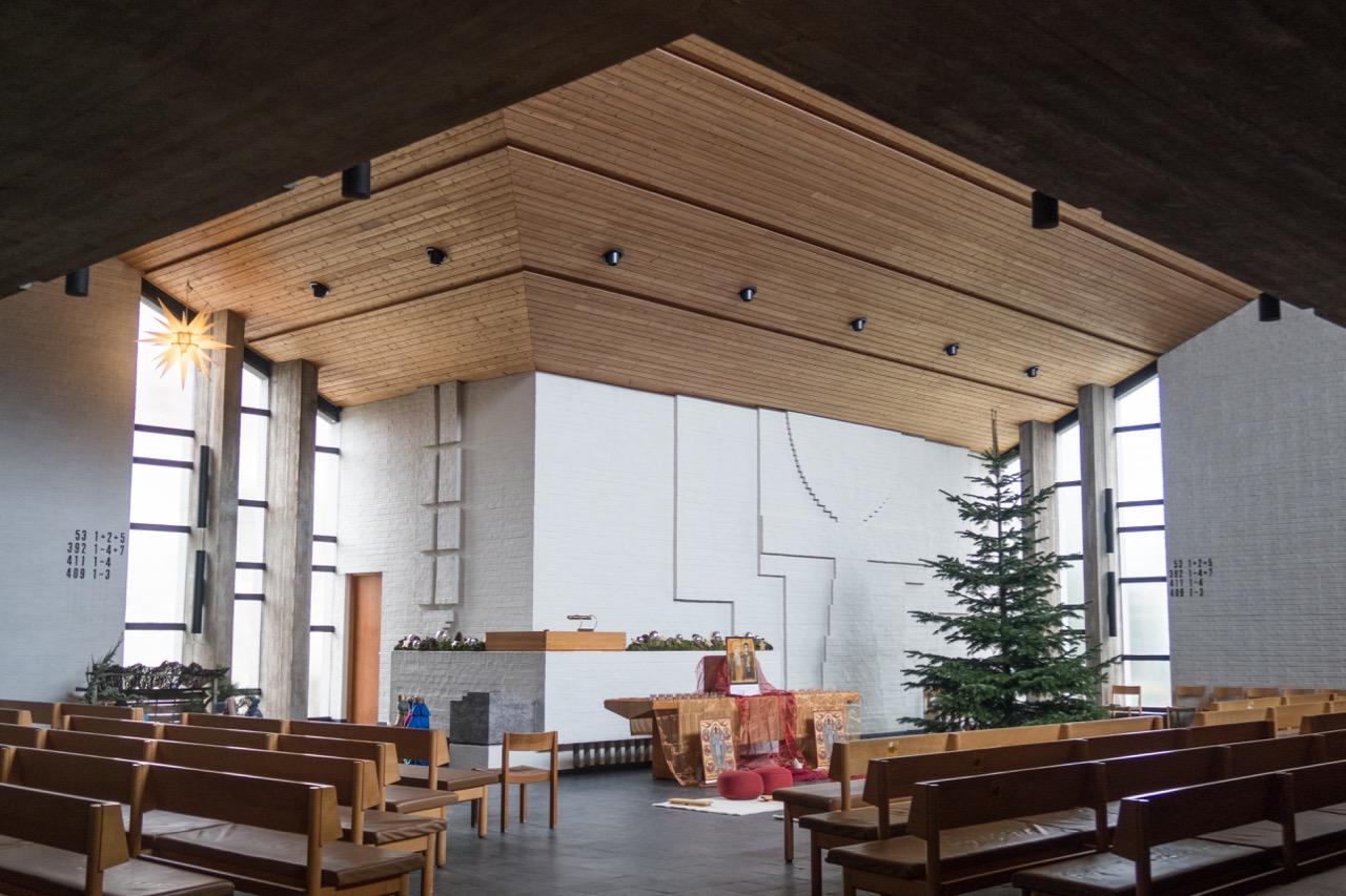 Tituskirche, Innenansicht