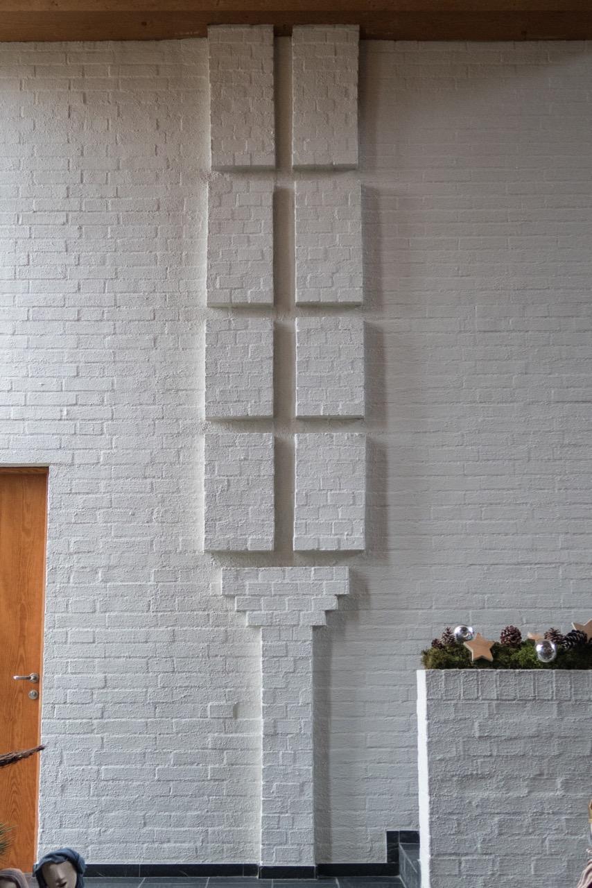 """Relief """"Brot vom Himmel"""" (Walter Gürtler, 1964)"""