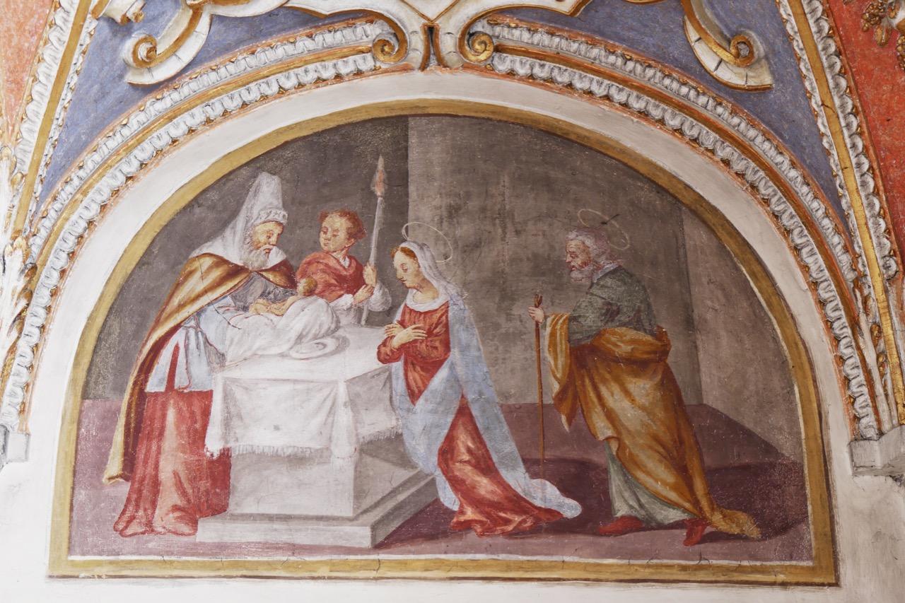 """Fresko """"Beschneidung Jesu"""""""