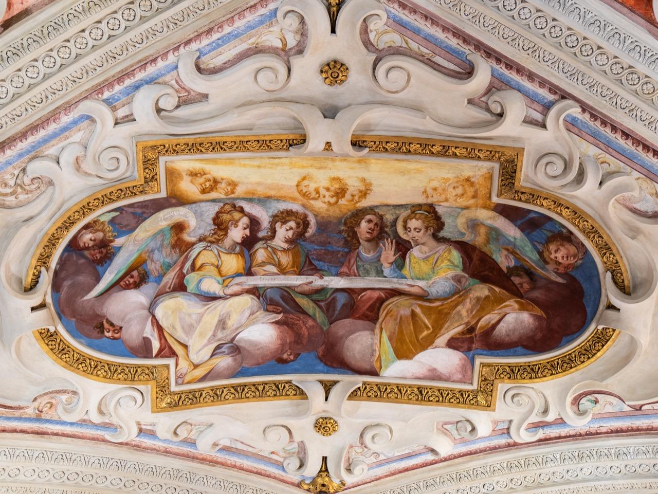 Deckengemälde mit singenden Engeln (Alessandro Gorla, um 1609–1617)
