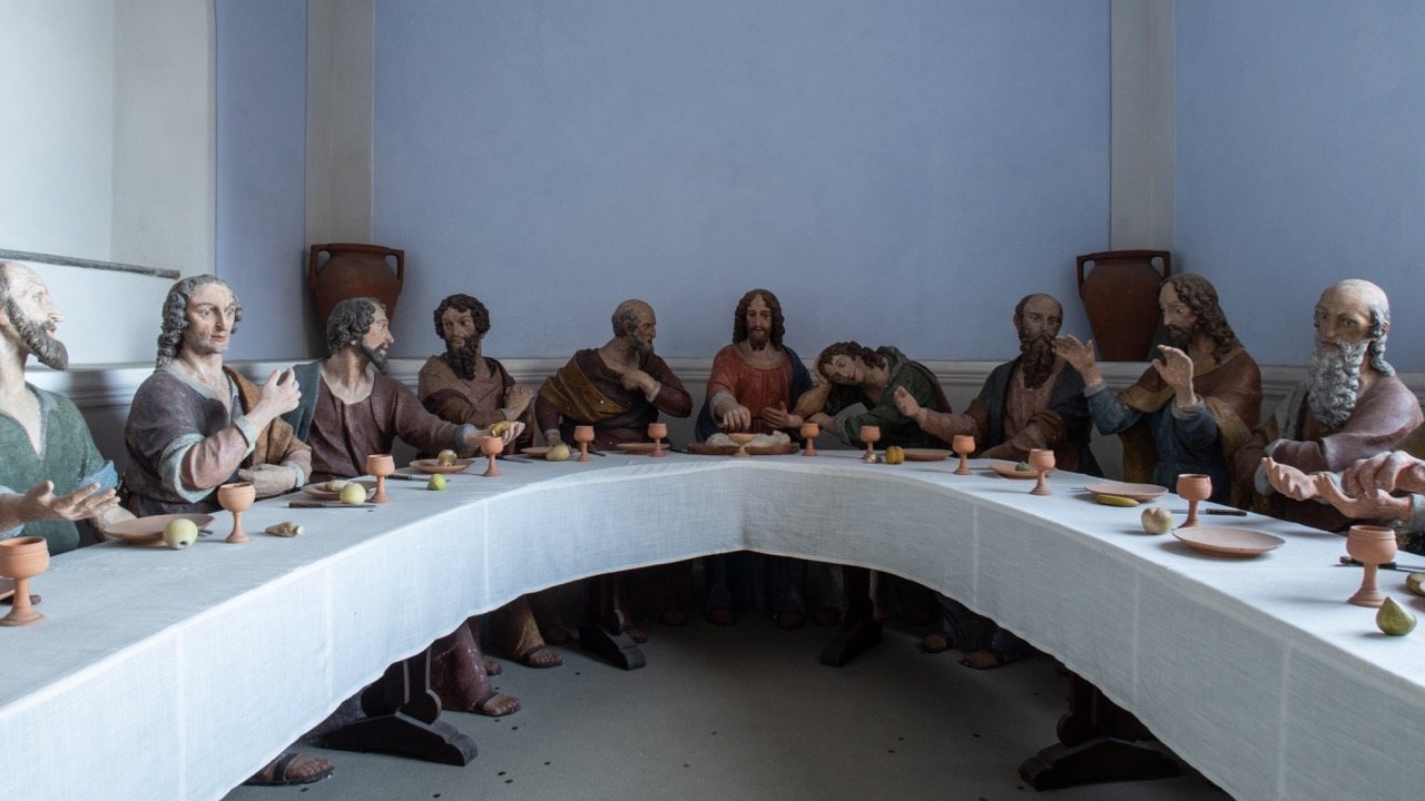 Abendmahlskapelle mit Stuckfiguren (17. Jh.)