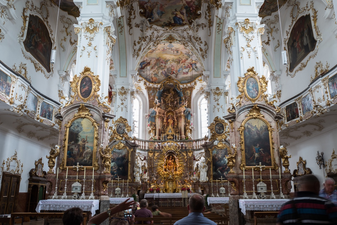 Klosterkirche Andechs, Innenansicht