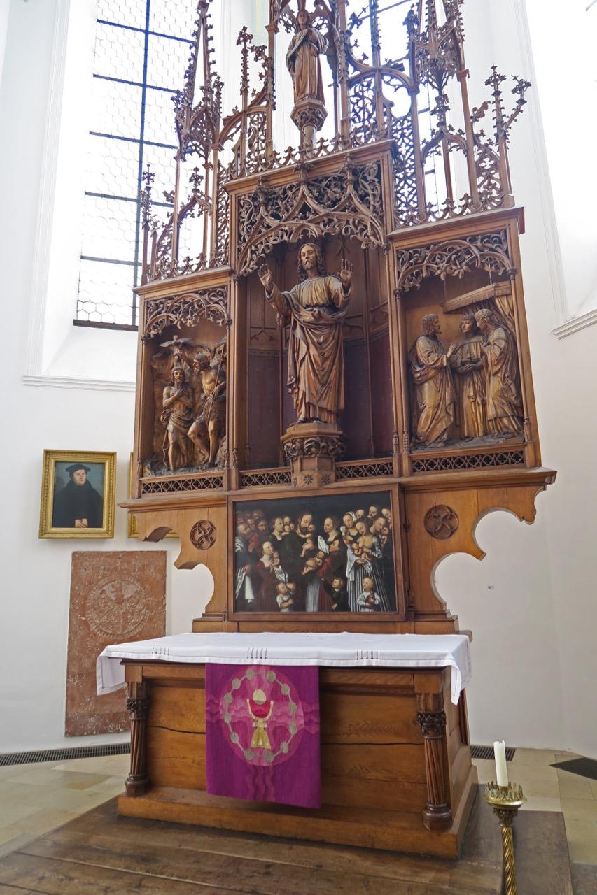 Altar im Ostchor (1898)