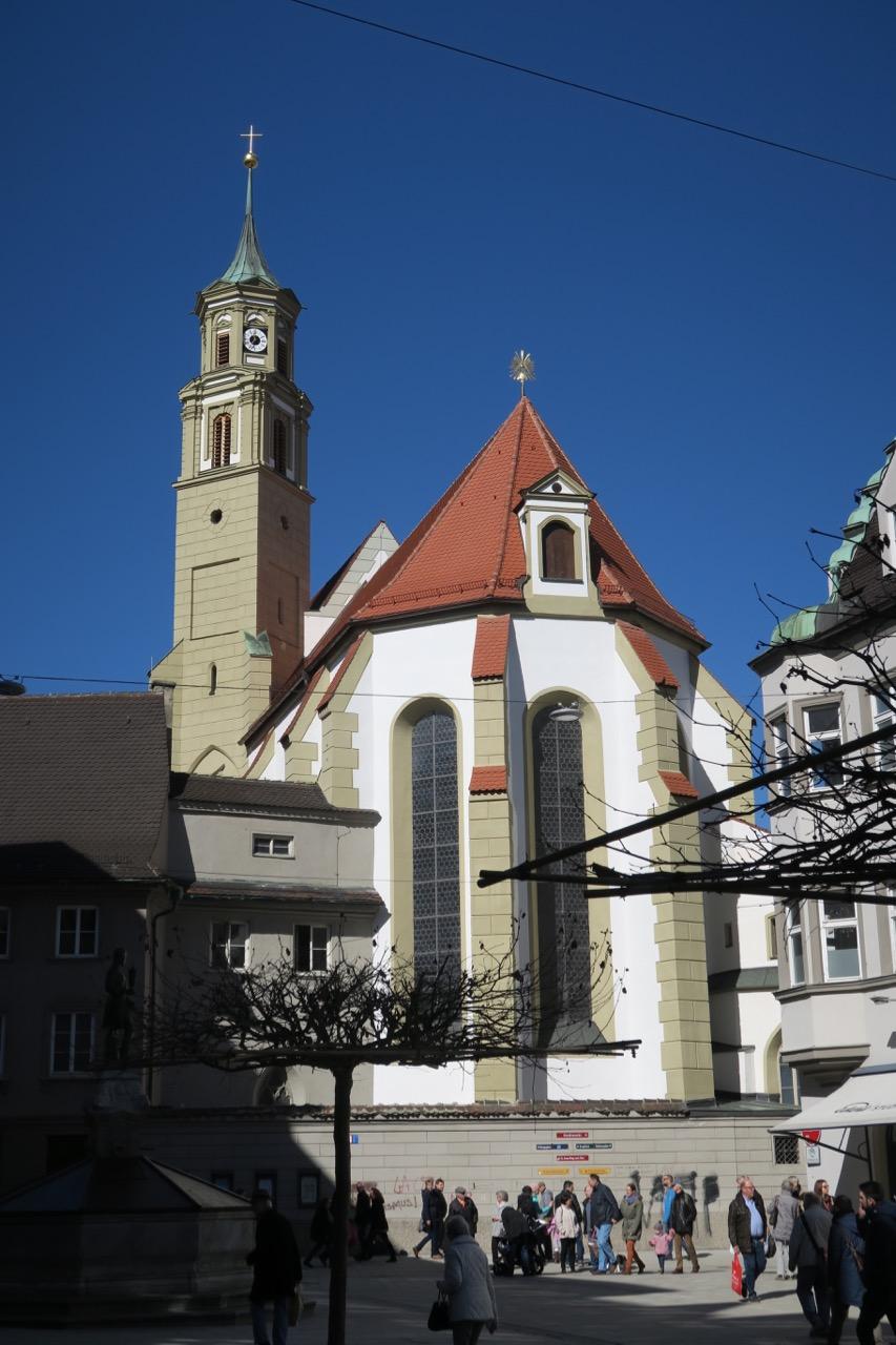 St.-Anna-Kirche, Außenansicht