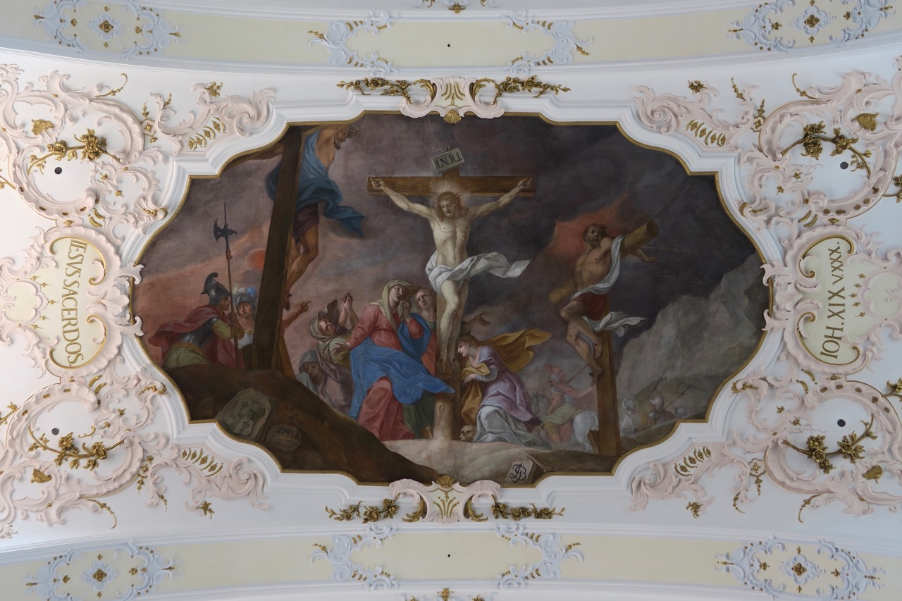"Deckengemälde ""Iesus Sacerdos"" (1748)"