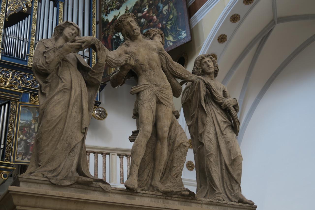 Figurengruppe in der Fuggerkapelle (nach 1512)