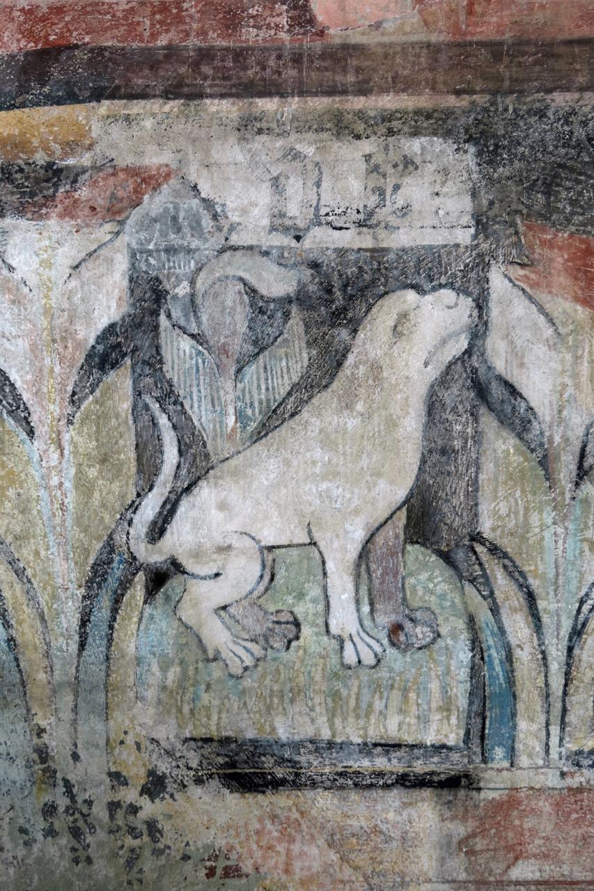Fresko in der Goldschmiedekapelle (Detail)