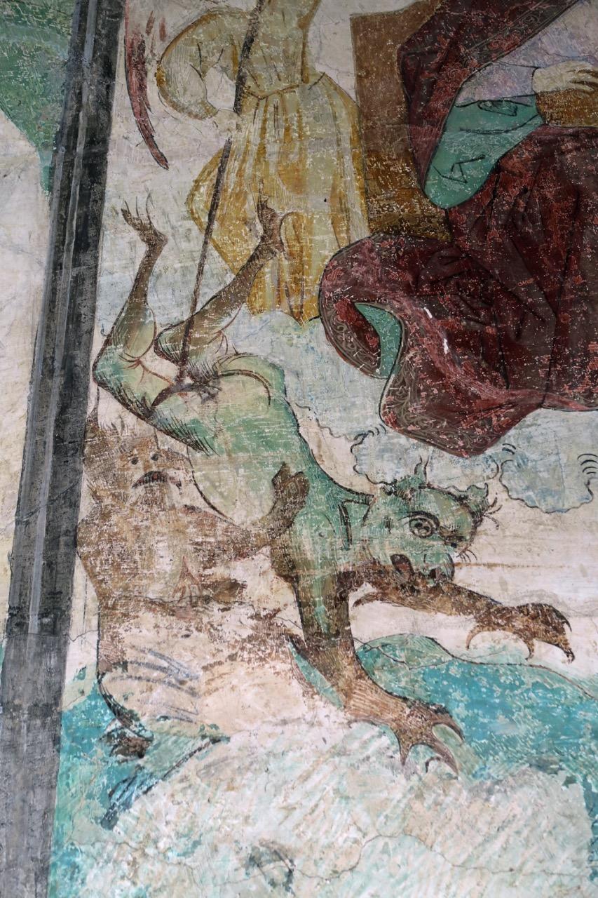 Fresko im Kreuzgang (1464, Detail)