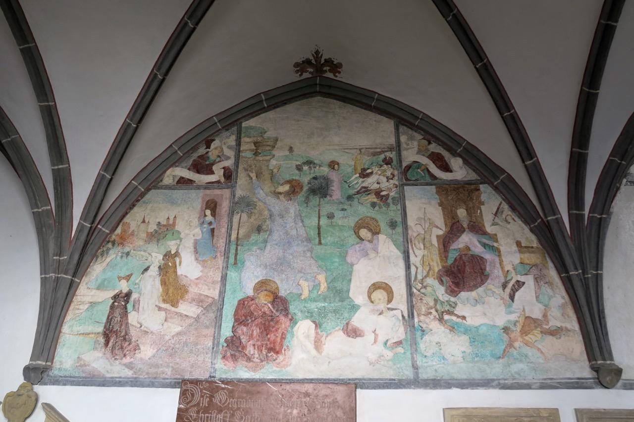 Fresko im Kreuzgang (1464)