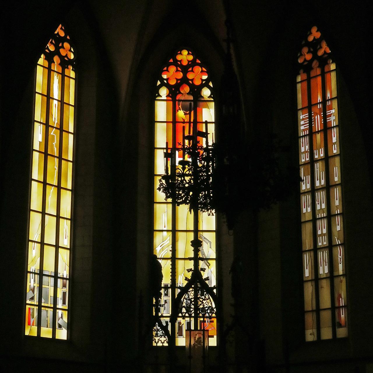 Fenster Westchor, Johannes Schreiter