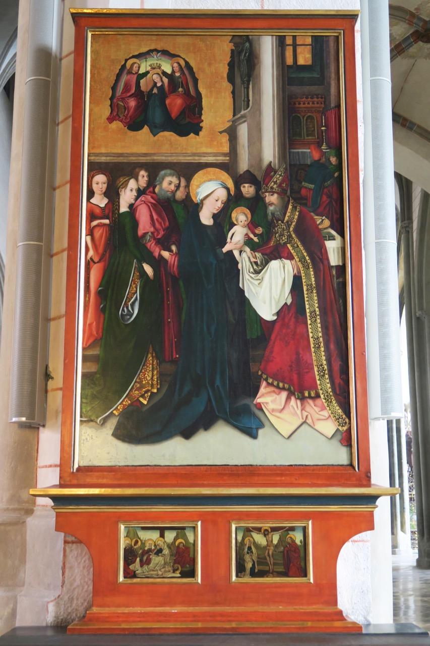 Hans Holbein d.Ä., Darstellung im Tempel