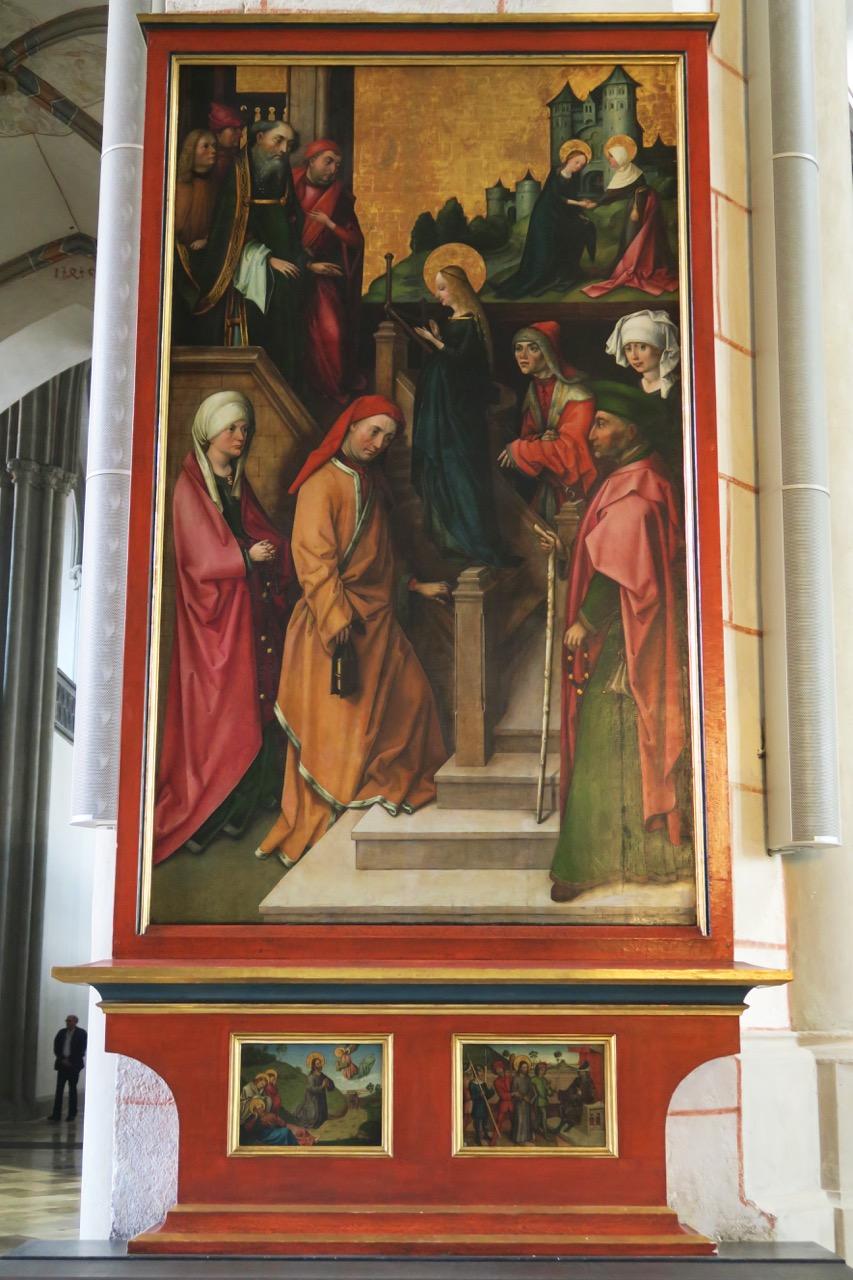 Hans Holbein d.Ä., Tempelgang
