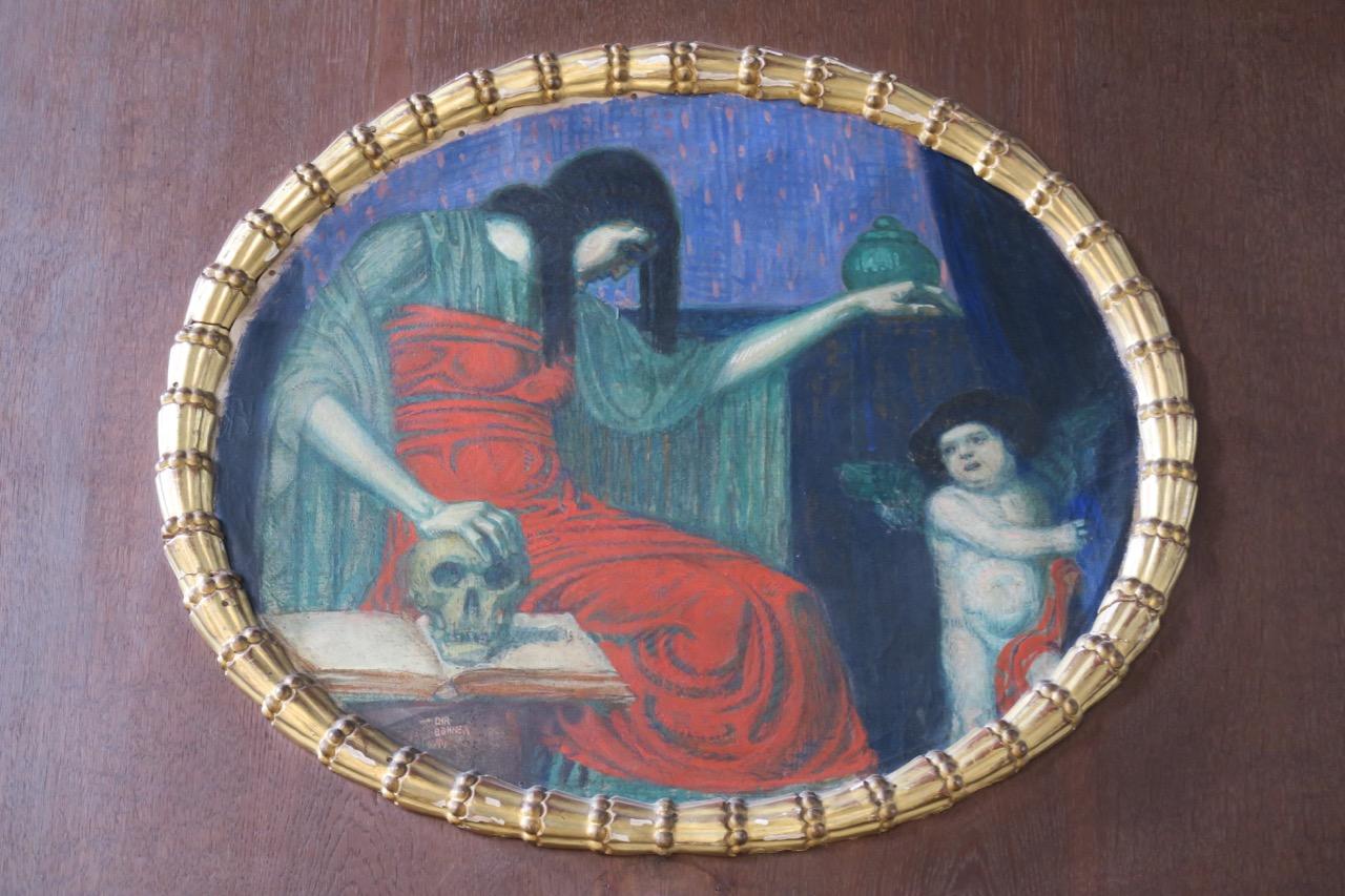 Beichtstuhl, Detail