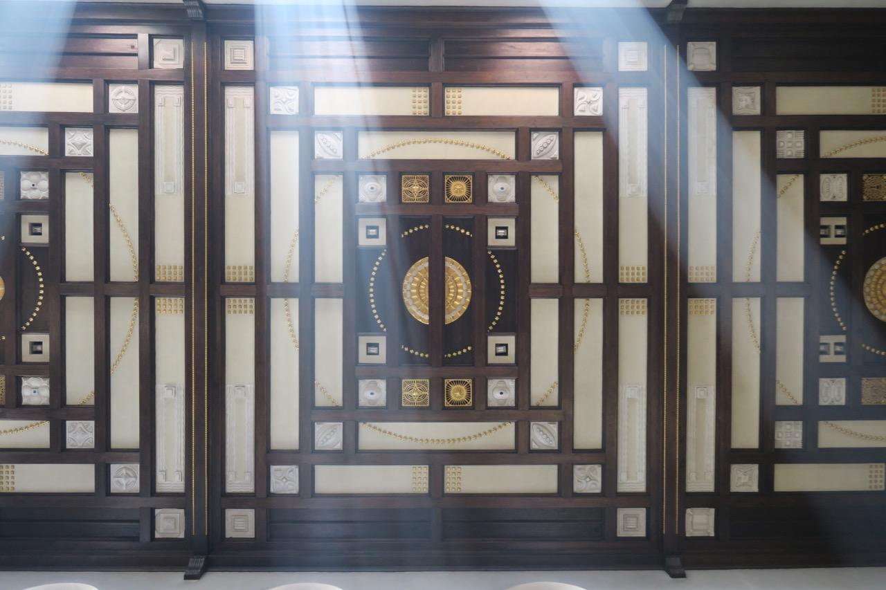 Decke des Mittelschiffs