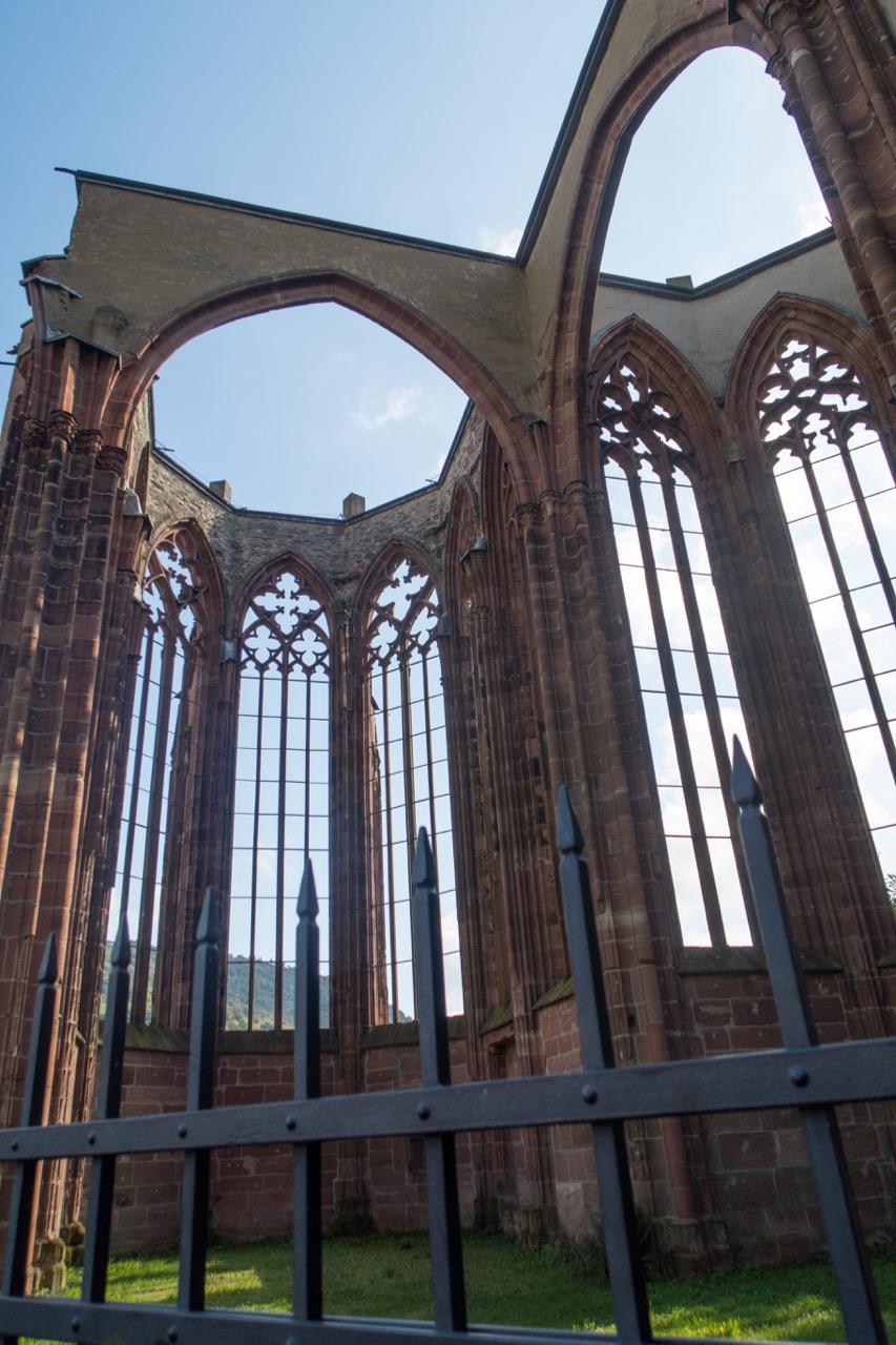 Wernerkapelle, Innenansicht (Chor und südl. Querschiff)