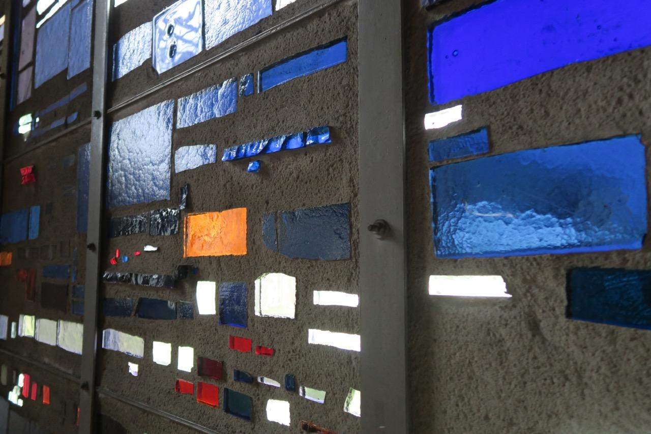 Glasfenster (Chountras-Müller, Sternstein-Feucht, 1962), Detail