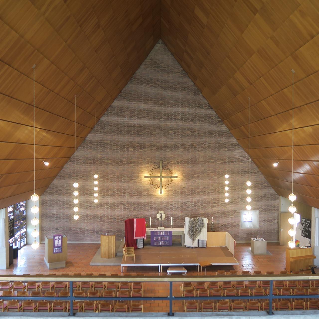 Matthäuskirche, Innenansicht