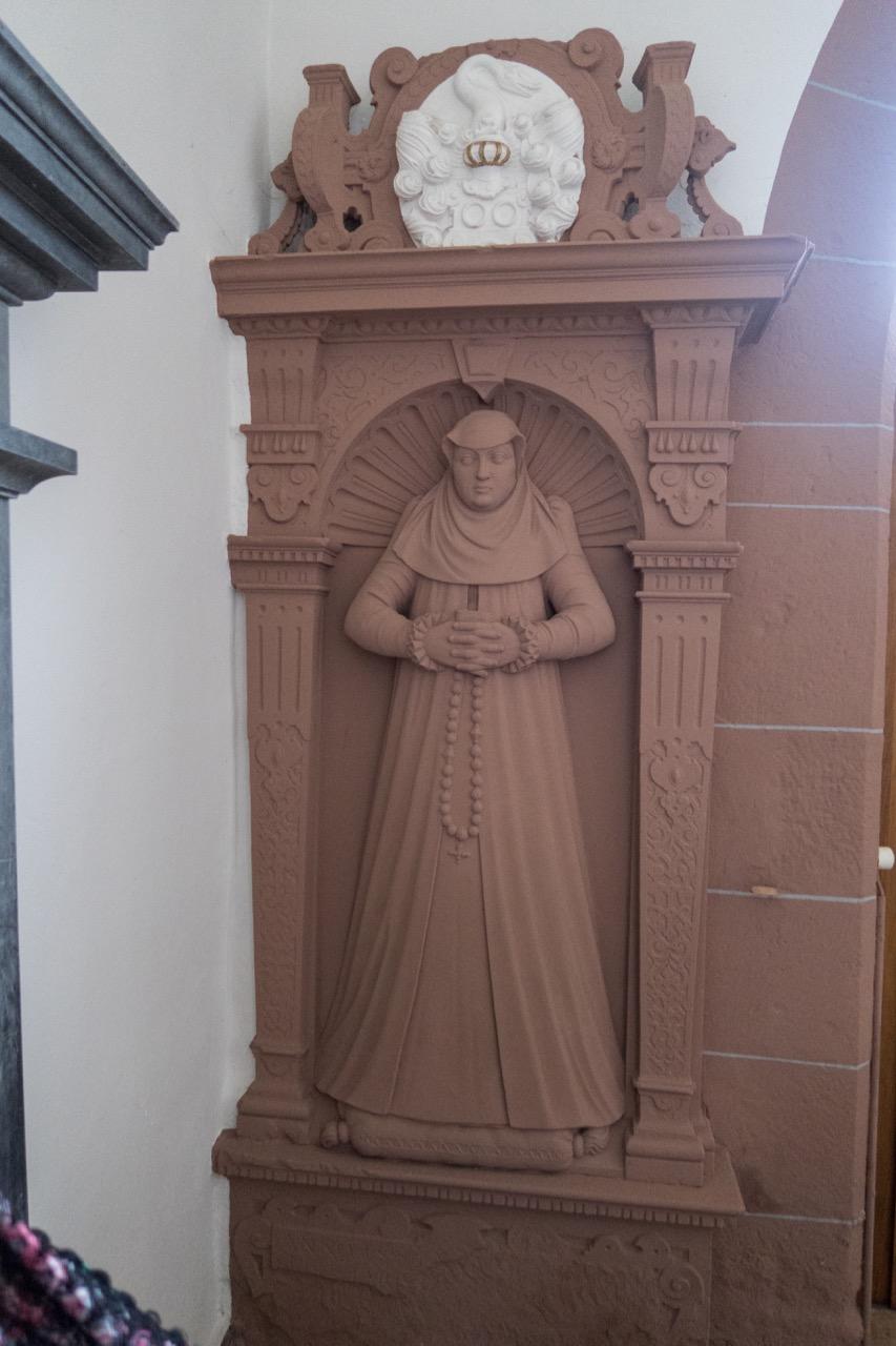 Epitaph der Esther von Rotberg († 1586)