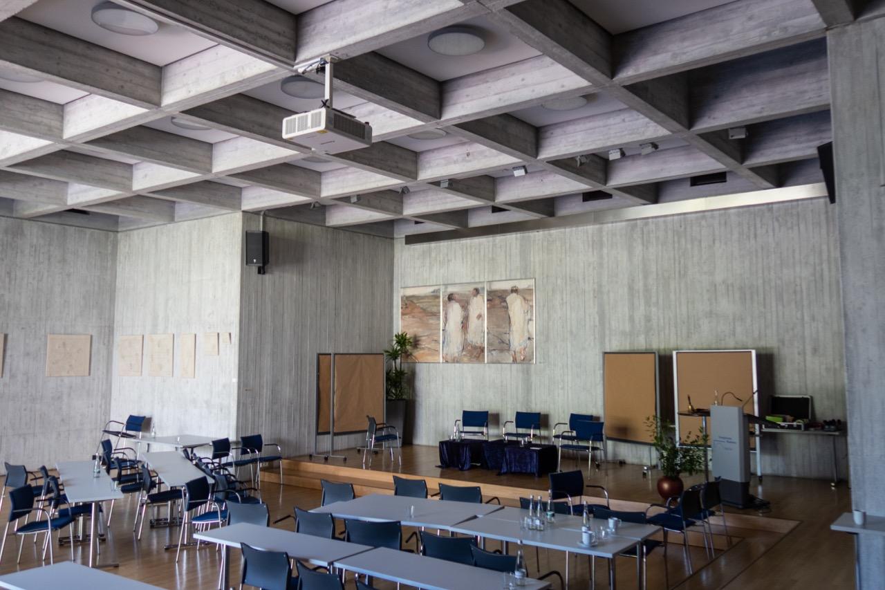 Festsaal - bis 1994 auch als Kapelle genutzt