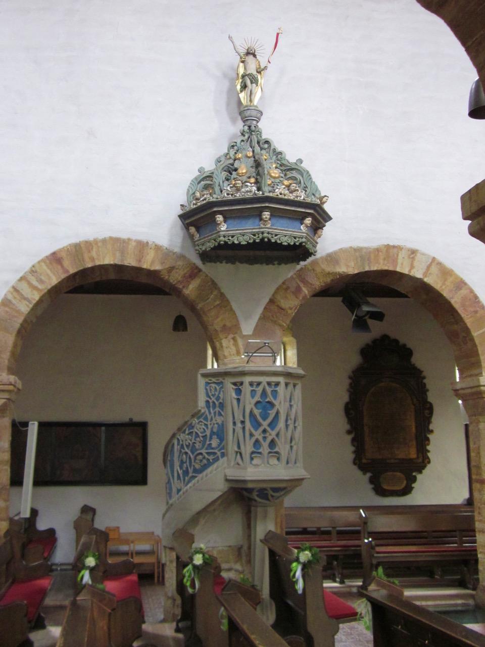 Kanzel, um 1500