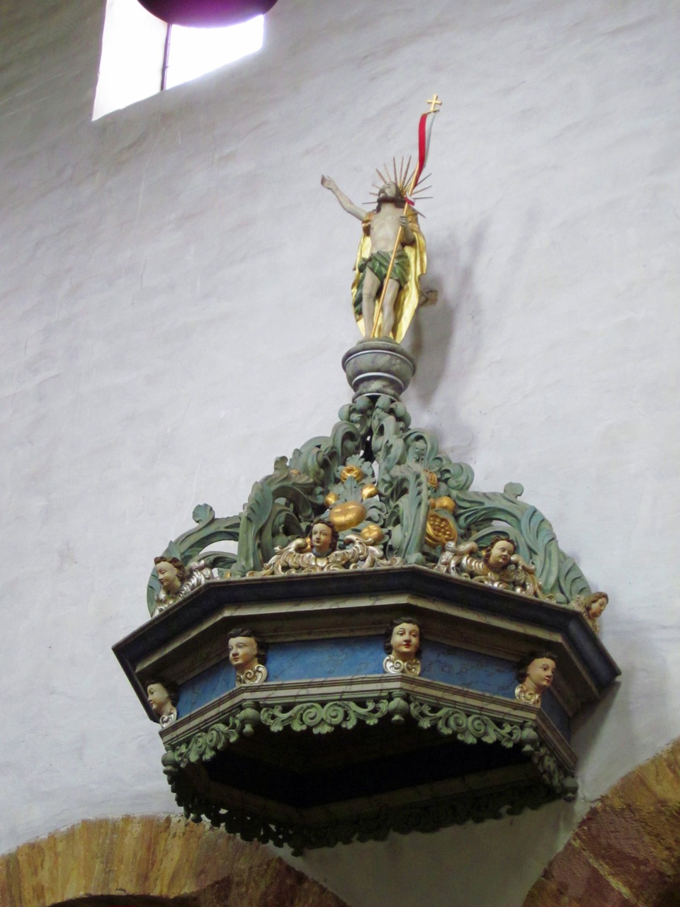 Schalldeckel Kanzel, 17. Jahrhundert
