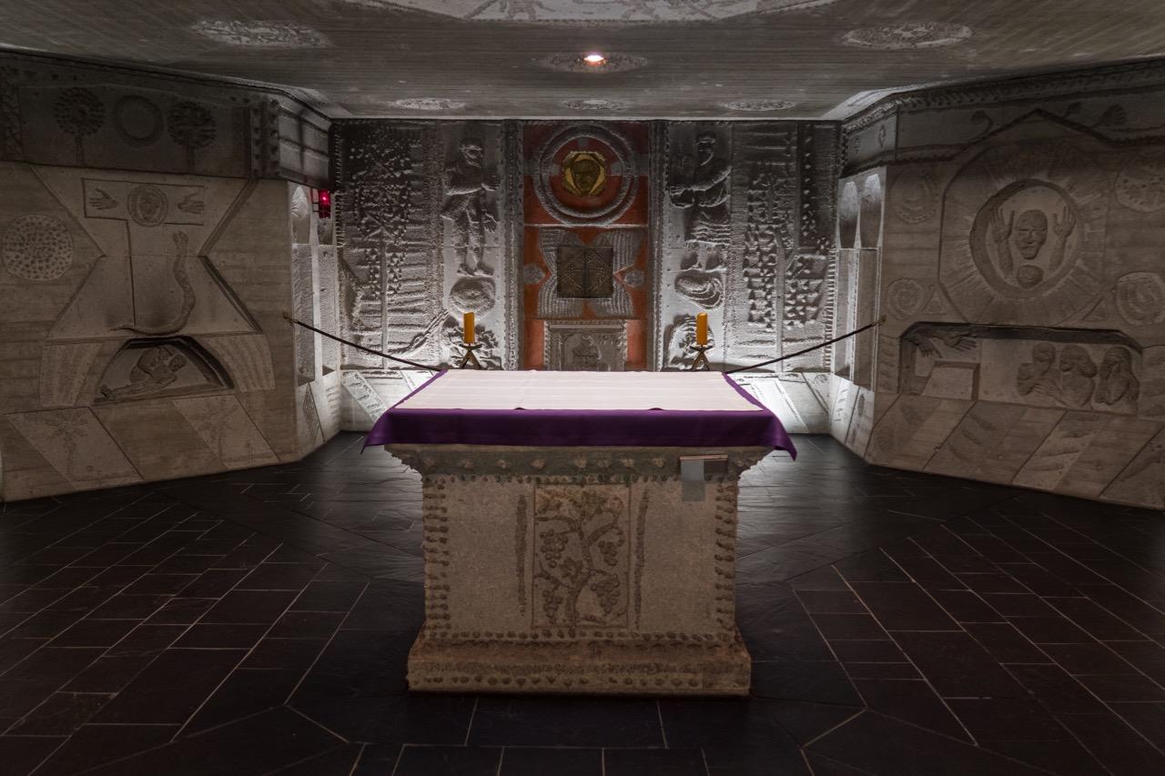 Krypta, Altar