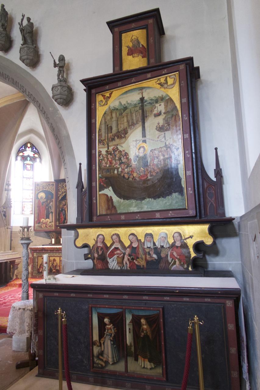 Seitenaltar, Hl. Ursula, (1496)