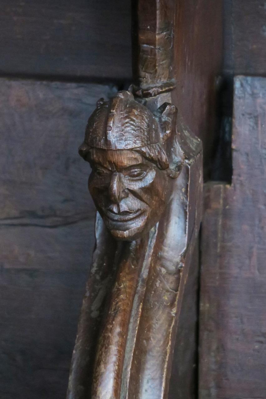 Chorgestühl, Detail