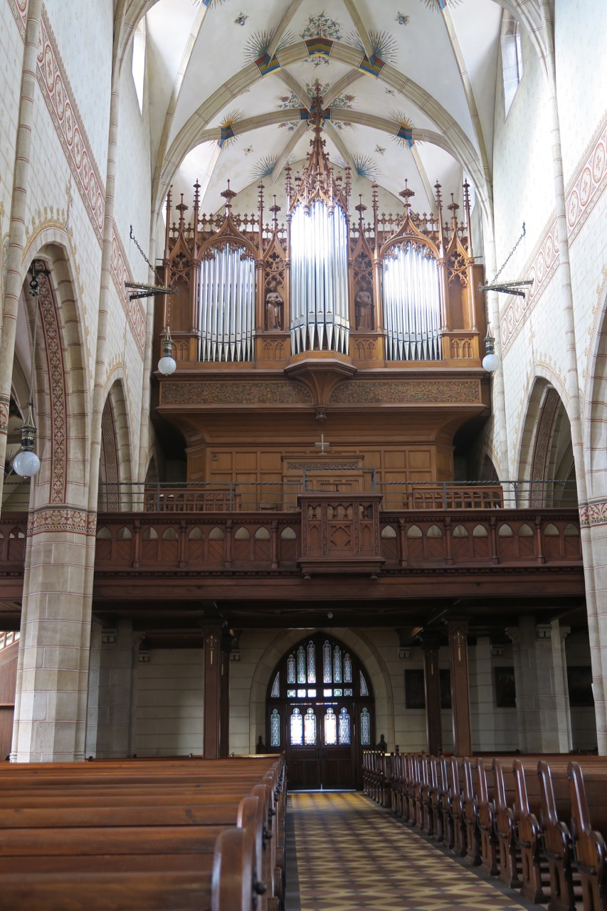 Orgelempore mit Weigle Orgel, 1901