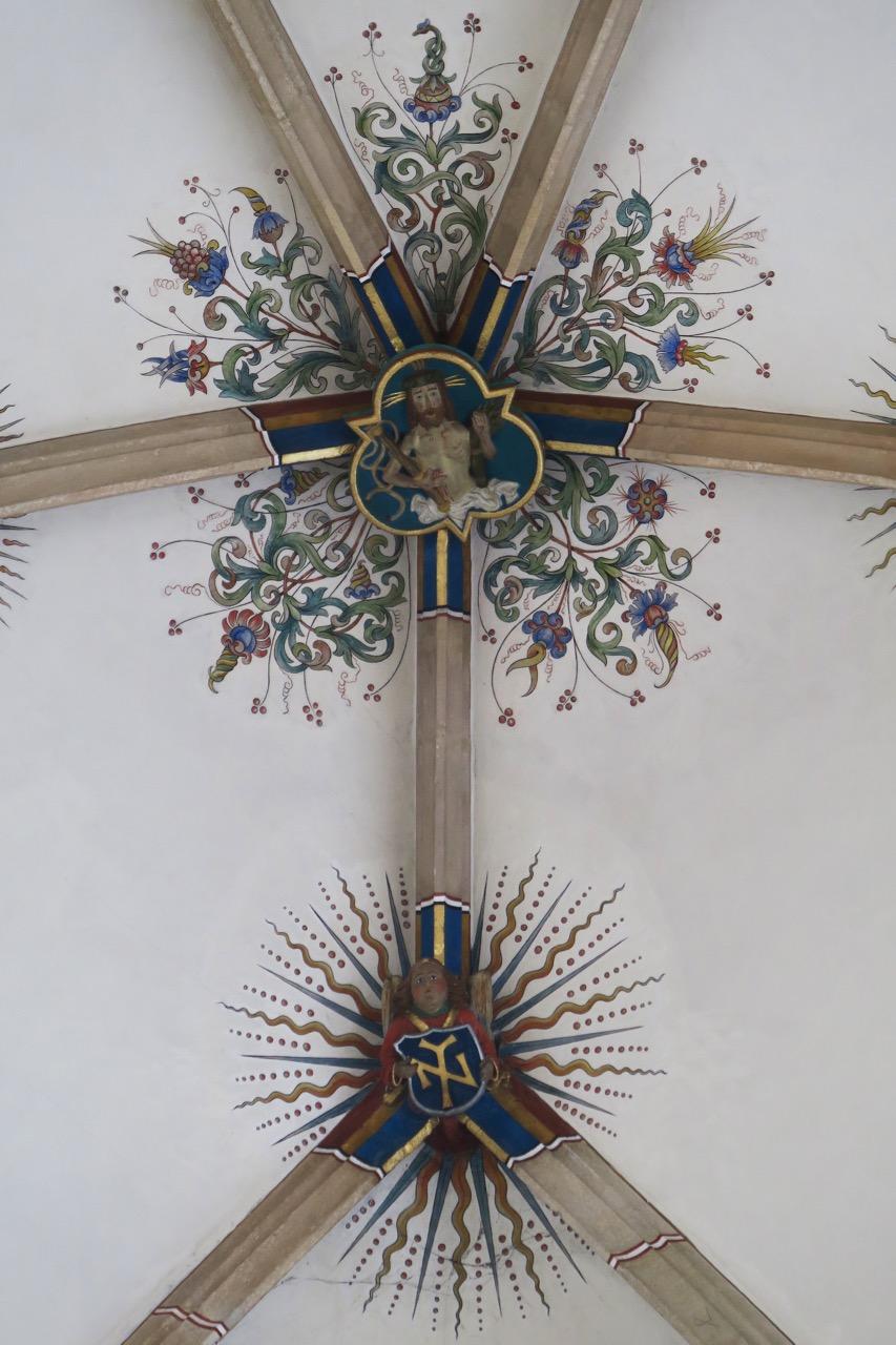 Schlussstein Christus
