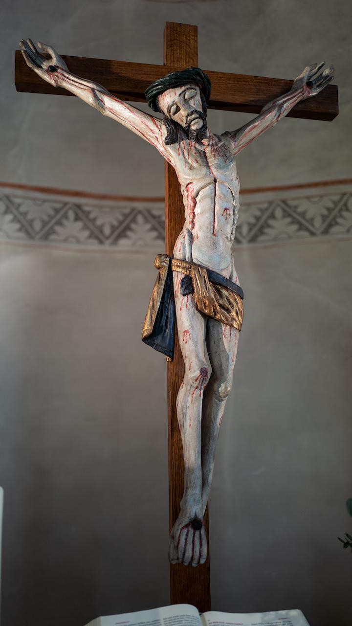 Spätgotisches Kruzifix