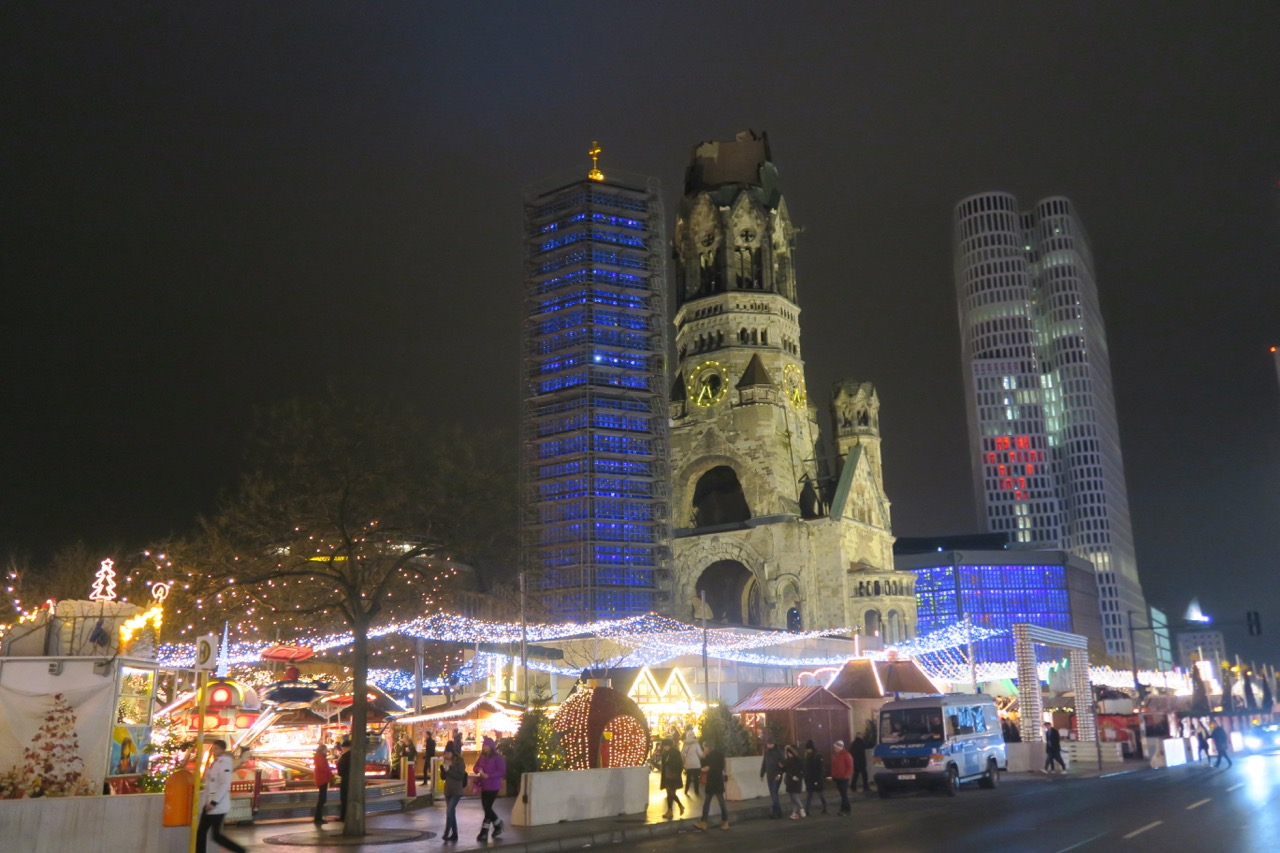 Kaiser-Wilhelm-Gedächtnis-Kirche Silvester 2016