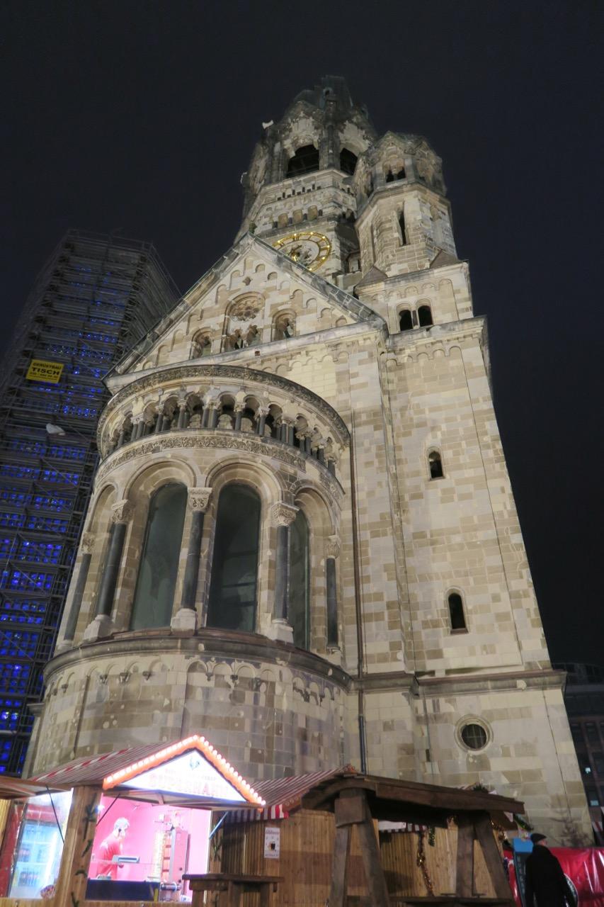 Ostansicht der alten Kirche