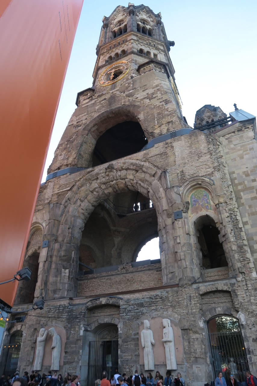 Turmruine der alten Kirche