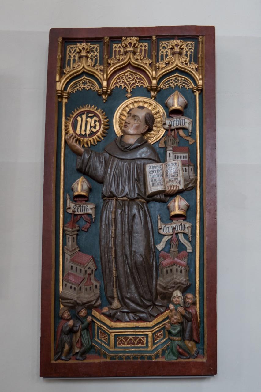 Bernhardin von Siena, 15. Jh.