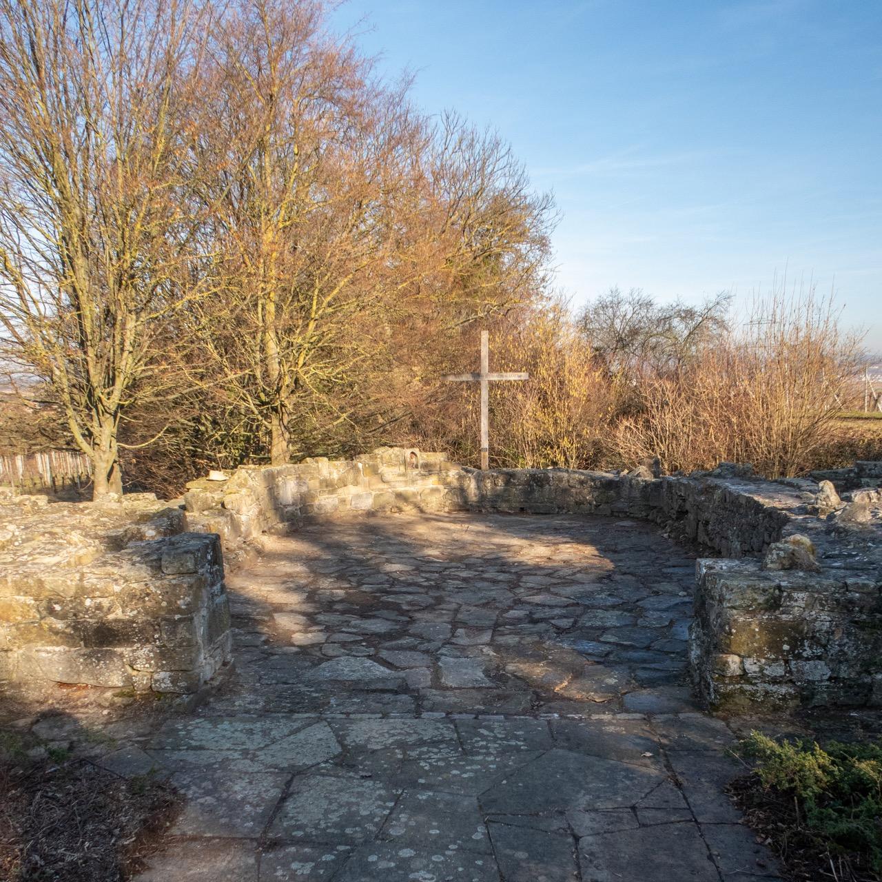 Marienkapelle im Kloster Frauenberg, Blick in die Apsis
