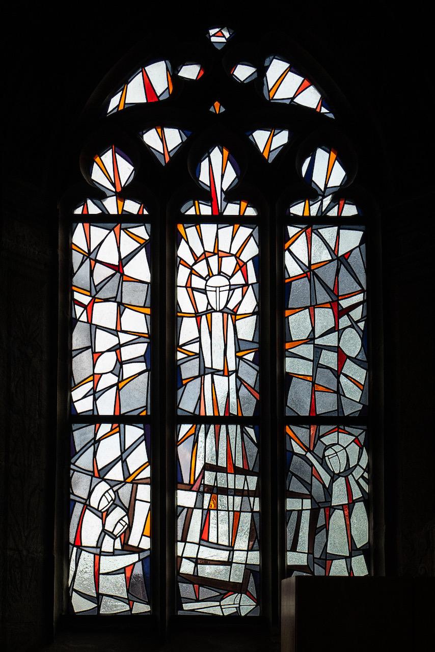 Fenster Bach-Kapelle