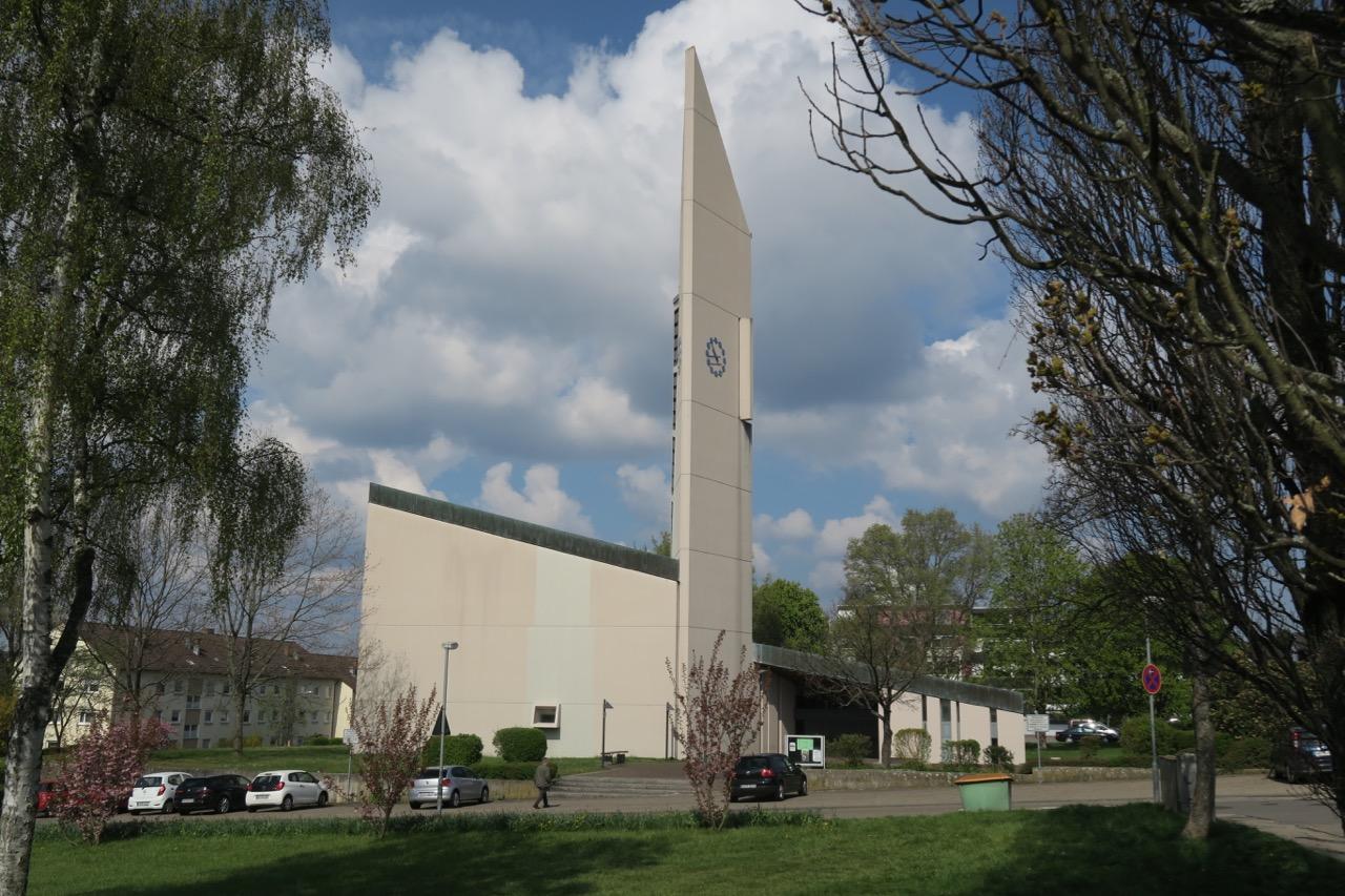 Versöhnungskirche, Außenansicht von Osten
