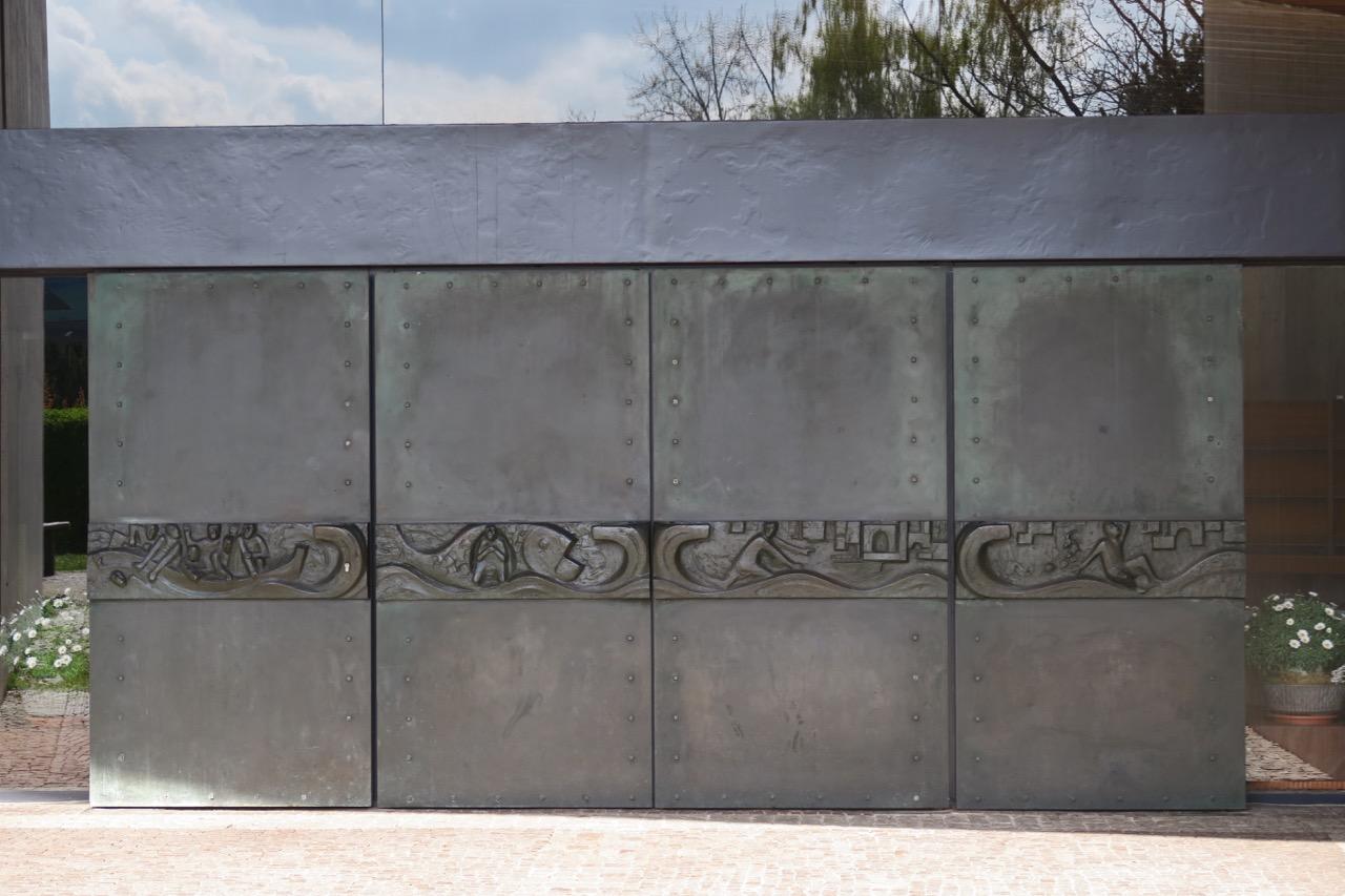 Bronzetüren zur Jonaerzählung (Albrecht Kneer, 1965)
