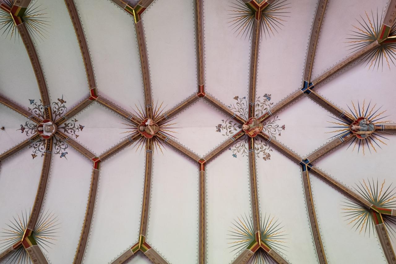 Marienkapelle, Deckengewölbe