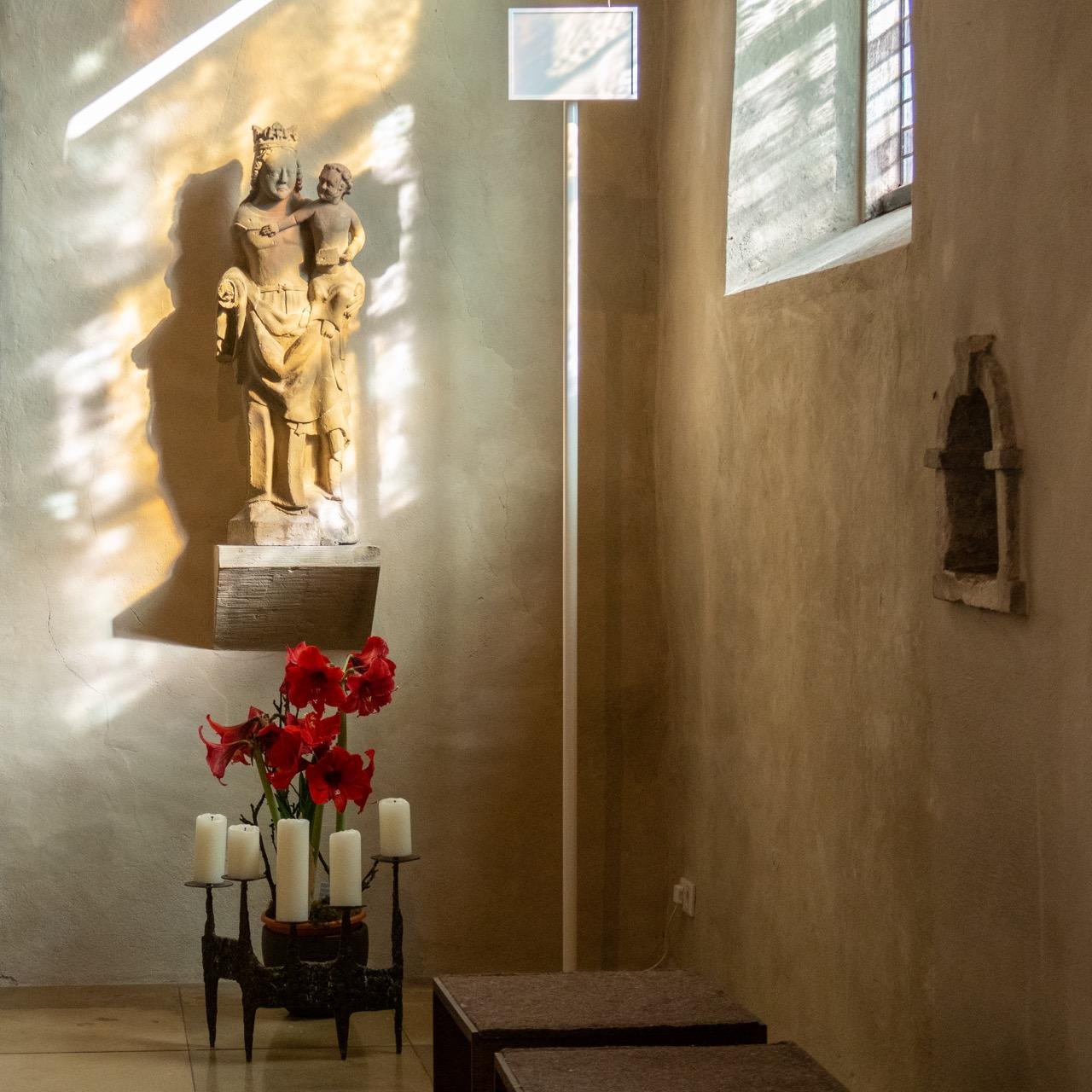 Sandsteinskulptur Maria vom Trost (vor 1774)