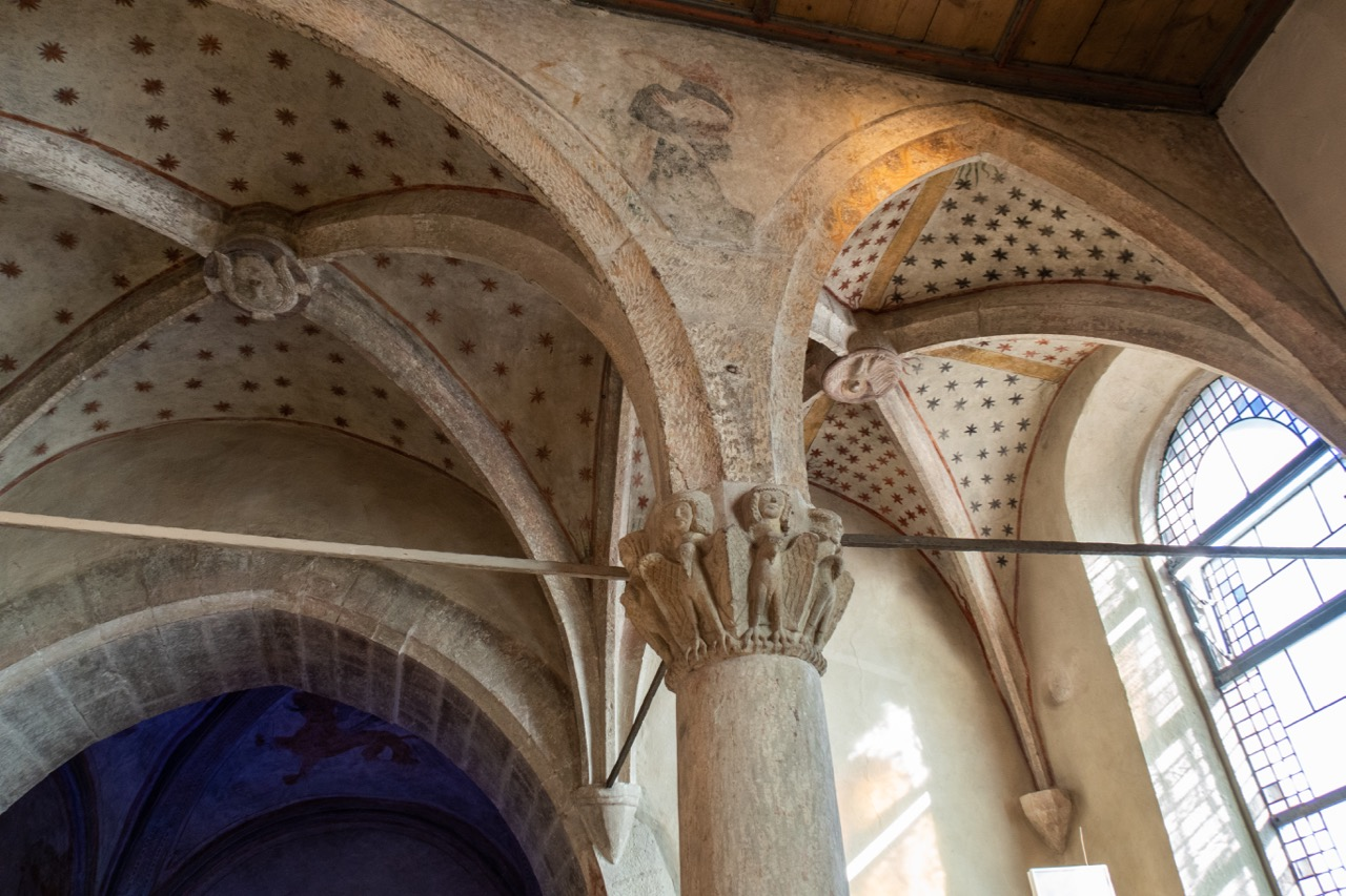 Baldachingewölbe über dem Altarraum
