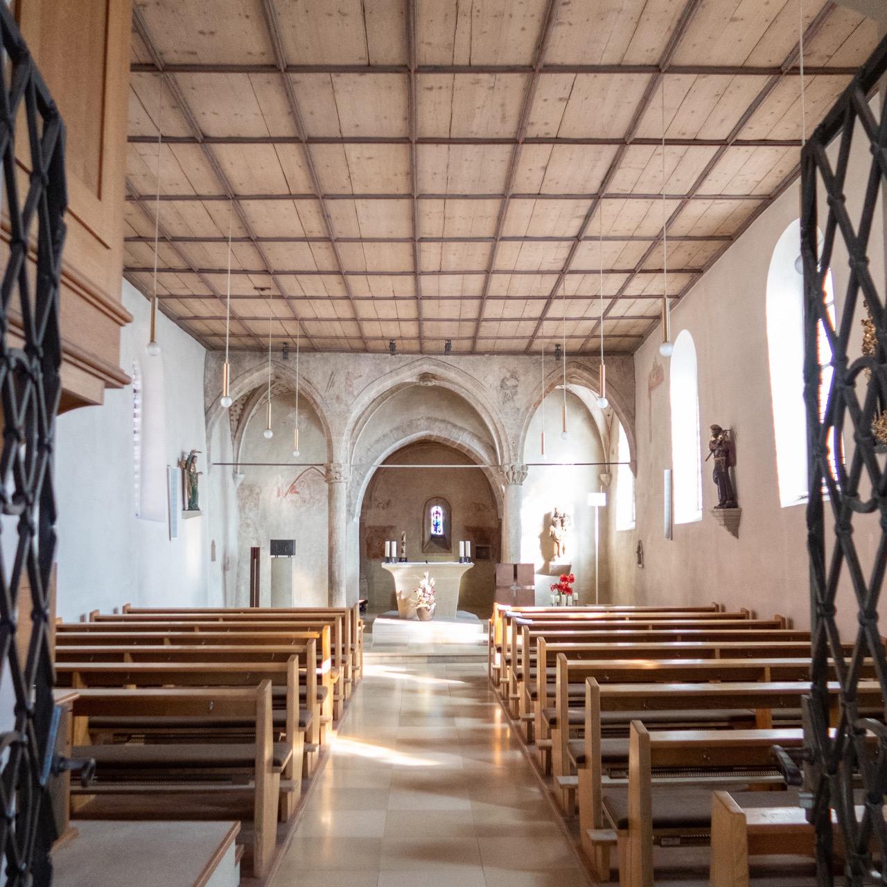 St. Michael, Innenansicht