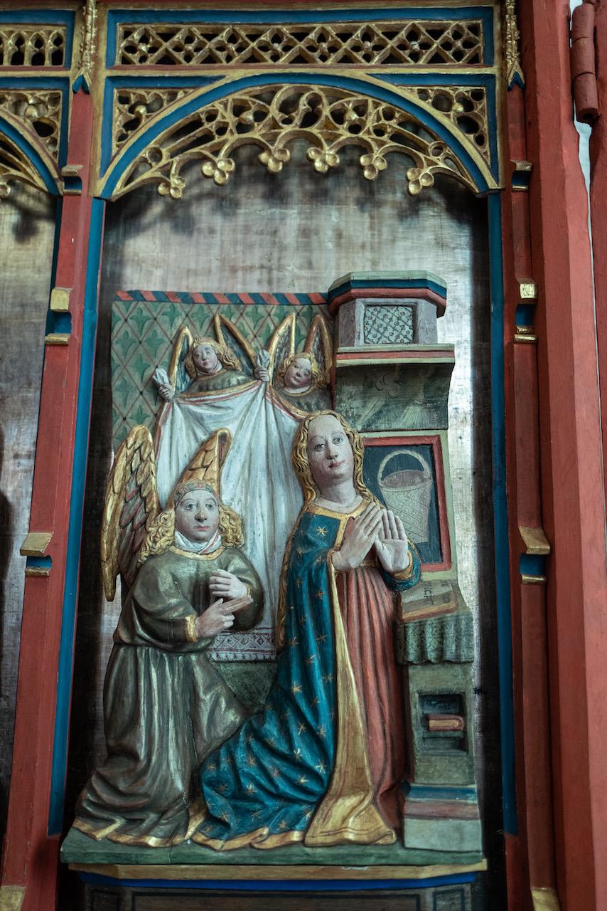 Lüderskooper Altar, Detail