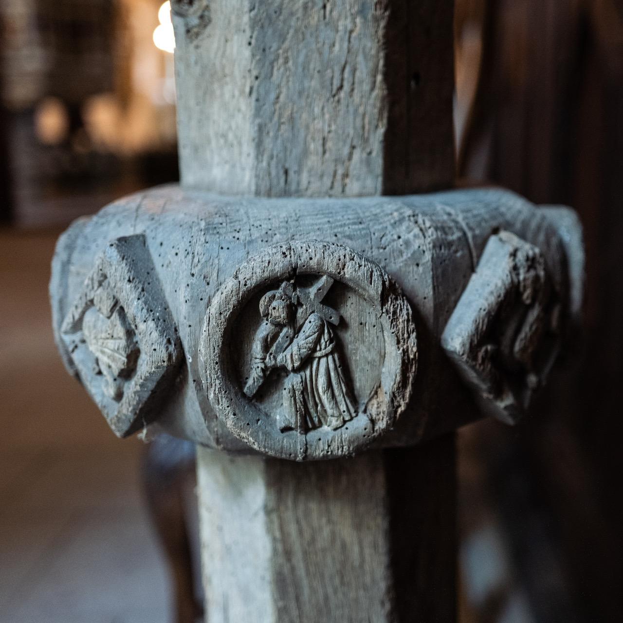 Pieta, Detail